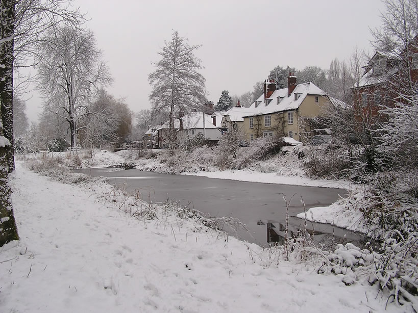 The Long Pond in Winter 2